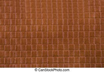 struktur, av dager, brun, läder