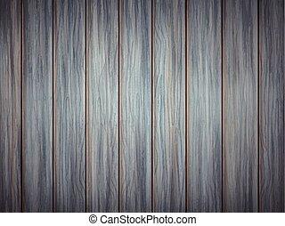 struktur, blåttbakgrund, trä planka
