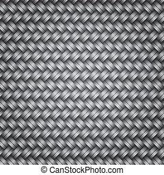 struktur, flätverk, metall, bakgrund, fiber