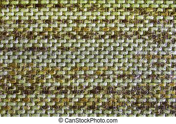 struktur, tyg, rynka, grön, pattern.