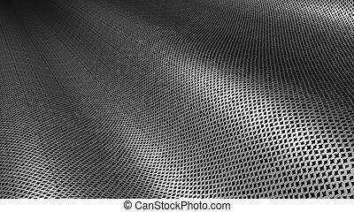 struktura, metal, srebro, tło