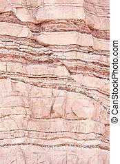 strukturell, geologie, verwerfung