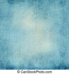 struktureret, blå baggrund