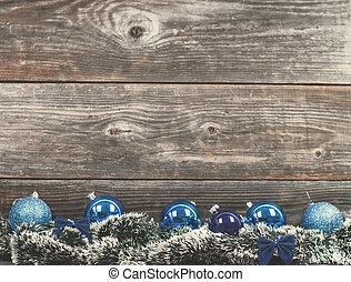 struntsak, årgång, träd, struktur, ved, jul