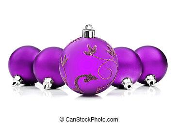 struntsak, utrymme, purpur, text, bakgrund, vit jul