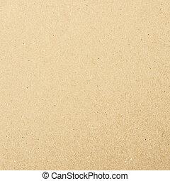 struttura, carta, fondo, riciclato, marrone