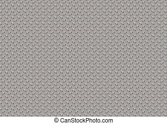 struttura, checkered, piastra