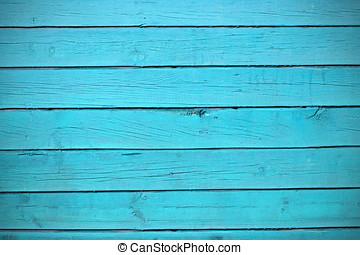 struttura, di, blu, legno, assi