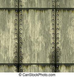 struttura, di, metallo