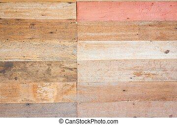 struttura, fondo, legno, parete, marrone, grungy, asse