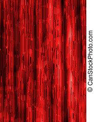 struttura, fondo, rosso