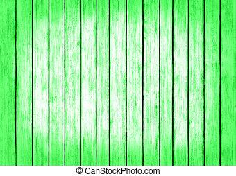 struttura, legno, sfondo verde, disegno, pannelli