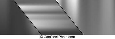 struttura, metallo, acciaio, taglio, pendenza