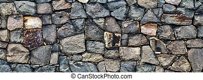 struttura, rustico, fondo, muro pietra