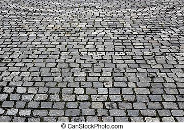 struttura, strada, pavimentato