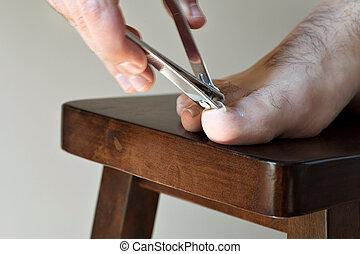 strzyżenie, toenails