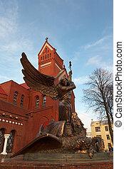 Sts. Simeon and Elena roman catholic church (Minsk)