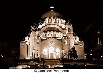 st.sava, belgrade, cathédrale