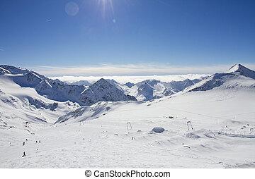 Stubaier Gletscher, Austria