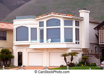 Stucco Home in the Mountains