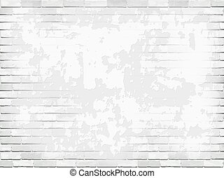 stucco wall brick background white