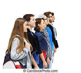 studenci, reputacja, grupa