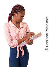 student, afrykanin