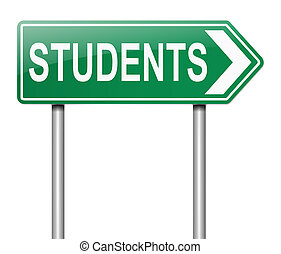 Student concept.