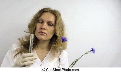 student cornflower flask