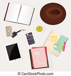 Student desk: