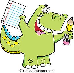 Student Dinosaur