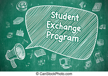 Student Exchange Program - Business Concept.