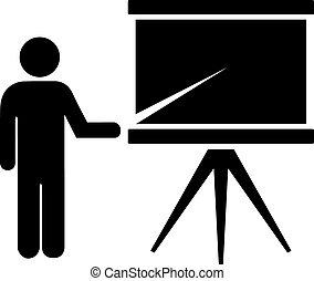 Student icon - Student or teacher icon