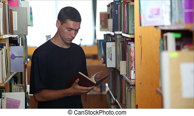 student in the library 1