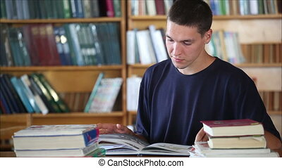 student in the library 4
