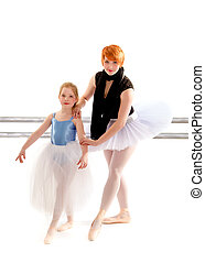 Student Learns Port Des Bras from Ballet Teacher