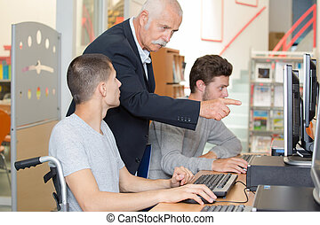 student of computer programming
