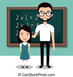 student school teacher icon
