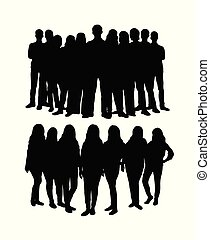 Student Team Silhouette