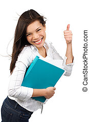 studente, felice