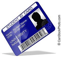 studente, scheda id