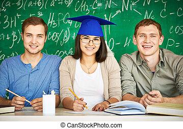 studenten, gruppe