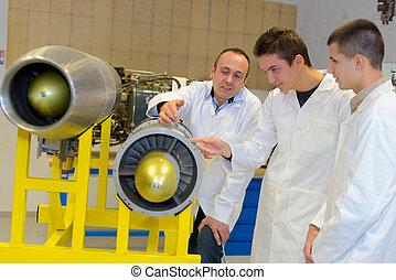 studenti, ingegneria, aerospaziale