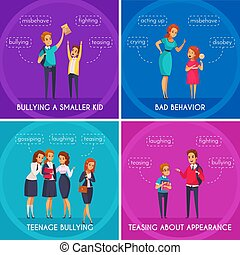 Students Bullying Design Concept