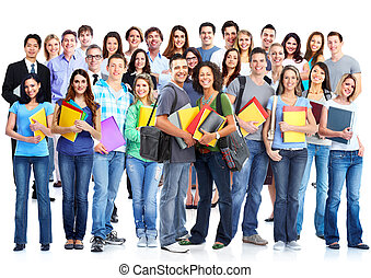Students group.