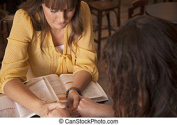 studeren, bijbel, vrouwen