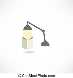 studeren, lamp