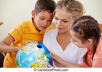 studerend , aardrijkskunde