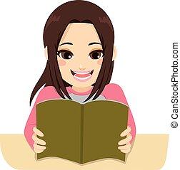 studerend , meisje, examen