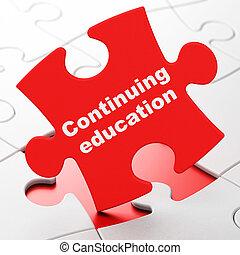 studerend , raadsel, achtergrond, doorlopend, concept:, ...